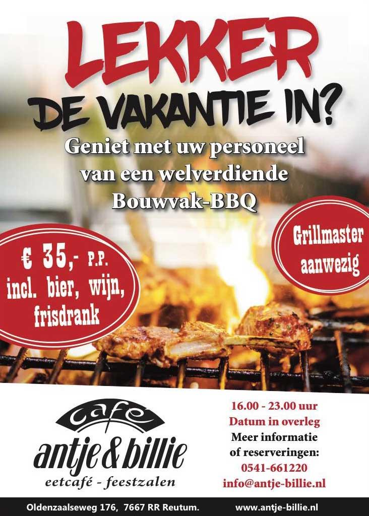 Bouwvak BBQ